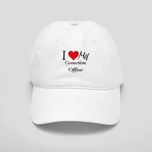 I Heart My Corrections Officer Cap