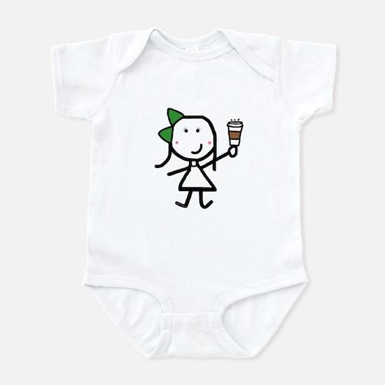 Girl & Coffee Infant Bodysuit
