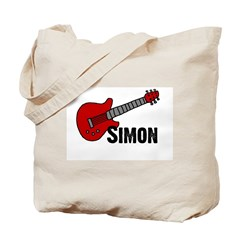 Guitar - Simon Tote Bag