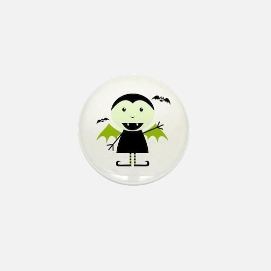 Little Vampire Mini Button