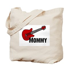 Guitar - Mommy Tote Bag