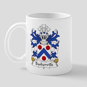 Baskerville Family Crest Mug