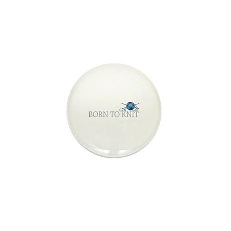 Born to KNIT Mini Button