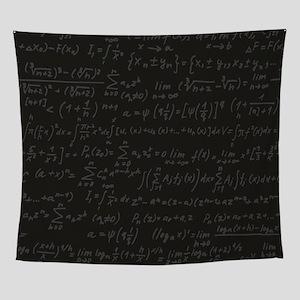 Scientific Formula On Blackboard Wall Tapestry