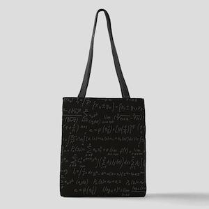 Scientific Formula On Blackboar Polyester Tote Bag