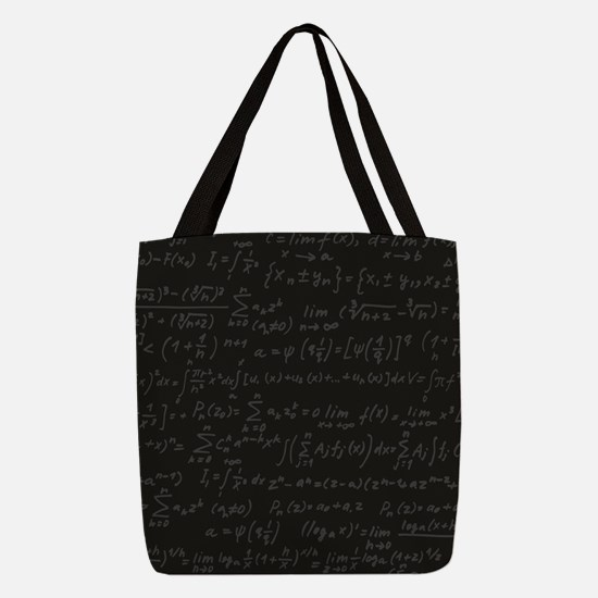 Scientific Formula On Blackboar Polyester Tote Bag