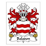 Baladon Family Crest Small Poster
