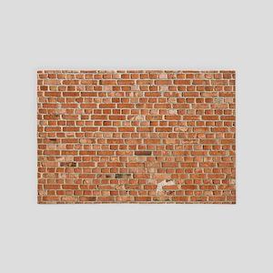 Brick Wall 4' x 6' Rug