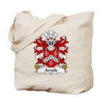 Arnold Family Crest Tote Bag