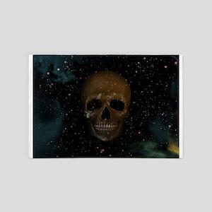 Space Skull 4' x 6' Rug