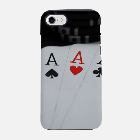 4 Aces iPhone 8/7 Tough Case