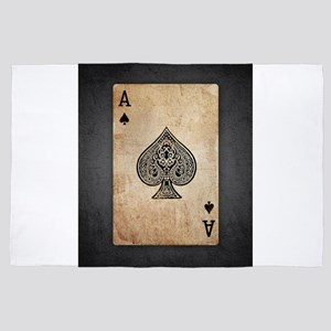 Ace Of Spades 4' x 6' Rug