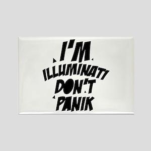 Im Illuminati Don't Panic Magnets