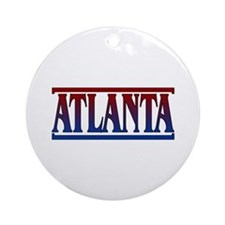 Atlanta Keepsake Round Ornament
