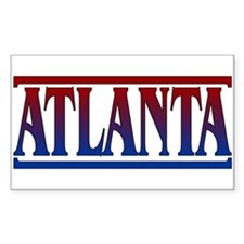 Atlanta Rectangle Sticker