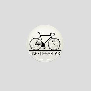 One Less Car Mini Button