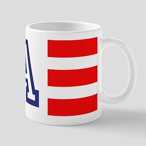 Monogram Flag Mugs