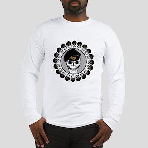 Airborne Skulls Long Sleeve T-Shirt
