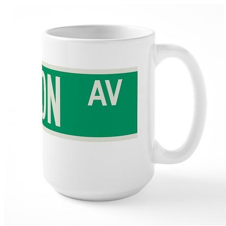 Madison Avenue in NY Large Mug