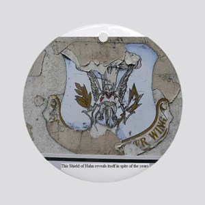 50th Tactical Fighter Wing Today Round Ornament