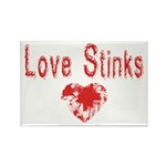 Love Stinks Rectangle Magnet (100 pack)