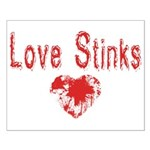 Love Stinks Small Poster