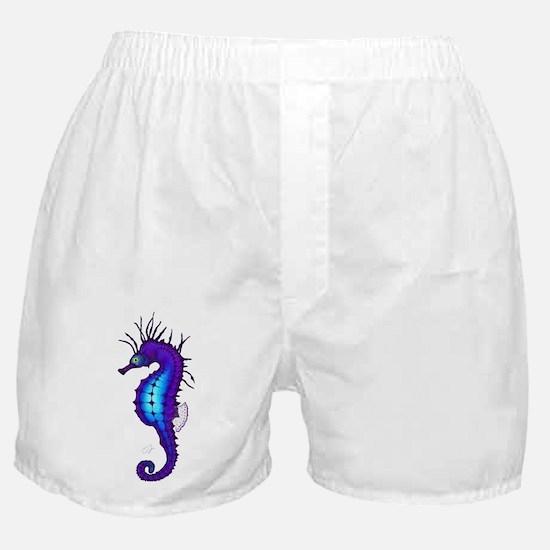 Cute Seahorse Boxer Shorts
