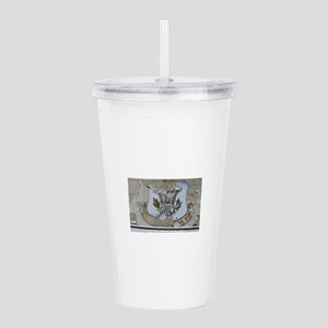 50th Tactical Fighter Acrylic Double-wall Tumbler