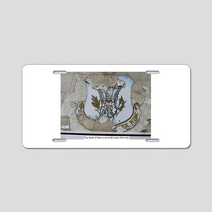 50th Tactical Fighter Wing Aluminum License Plate