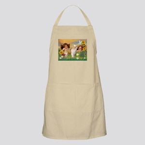 Angels/Puff Crested BBQ Apron