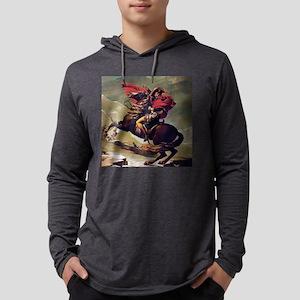 Napoleon On Horse Painting Long Sleeve T-Shirt