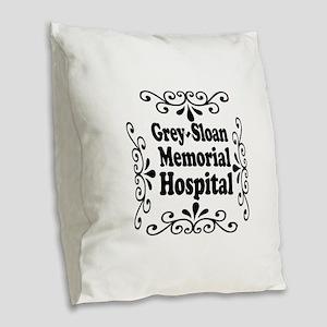 Grey Sloan Memorial Hospital Burlap Throw Pillow