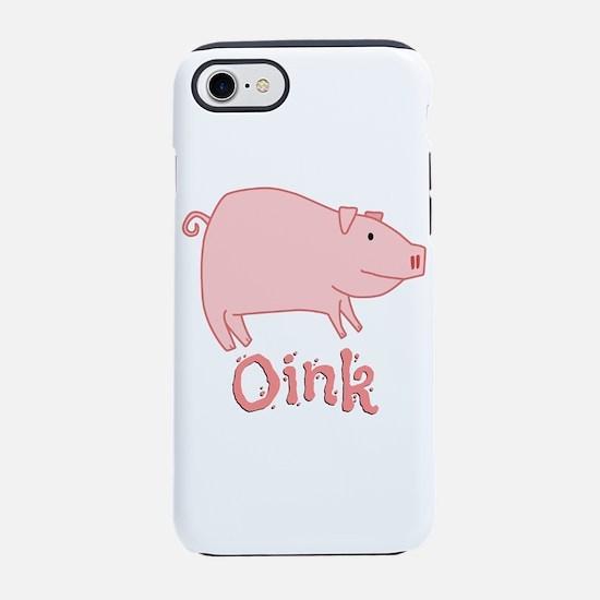 FUN PIG OINK iPhone 8/7 Tough Case