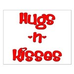 Hugs and Kisses Small Poster