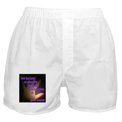 Tell the Tale of Your Thumb Boxer Shorts