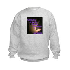 Tell the Tale of Your Thumb Sweatshirt