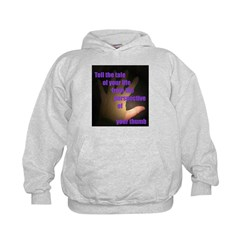 Tell the Tale of Your Thumb Hoodie