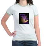 Tell the Tale of Your Thumb Jr. Ringer T-Shirt