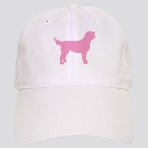 Pink Labradoodle Cap