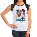 Flight Women's Cap Sleeve T-Shirt