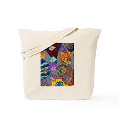 Astroids Tote Bag