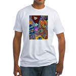 Astroids Fitted T-Shirt