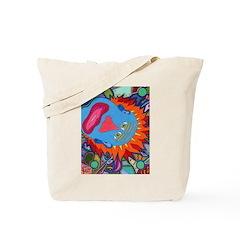 Big Clown (blue) Tote Bag