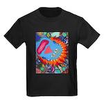 Big Clown (blue) Kids Dark T-Shirt