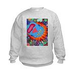 Big Clown (blue) Kids Sweatshirt