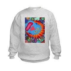 Big Clown (blue) Sweatshirt