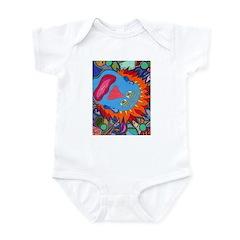 Big Clown (blue) Infant Bodysuit