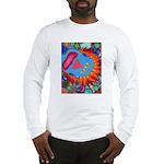 Big Clown (blue) Long Sleeve T-Shirt