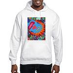 Big Clown (blue) Hooded Sweatshirt