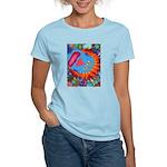 Big Clown (blue) Women's Light T-Shirt